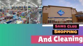 ಅಮೇರಿಕಾದಲ್ಲಿ ಗ್ರೋಸರಿ ಶಾಪಿಂಗ್ ಮತ್ತು ಕ್ಲೀನಿಂಗ್| Sams club Shopping| cleaning