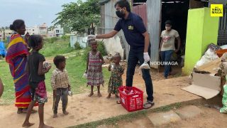 Food Distribution for needies by Nodumaga Foundation