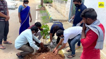plant a tree and get oxygen for free, Drive by Nodumaga Foundation